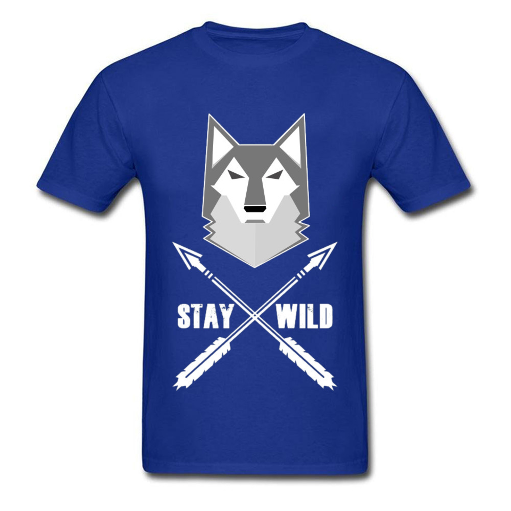 0314WD032 100% Cotton Tops & Tees for Men Casual T-shirts Fashionable Prevailing Crewneck Tops & Tees Short Sleeve 0314WD032 blue
