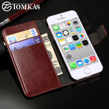 Coque iPhone 5c,Wallet Flip Style Phone Bag Case Cover For iPhone 5C(China)
