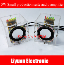 3W audio amplifier small production suite / mini speaker sensor kit / Computer Speakers DIY production parts(China)