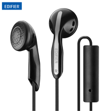 Edifier P180 In-ear Earphone Inline Control Stereo HIFI Earphone Headset with Microphone Adapter cable For iPhone Samsung Xiaomi