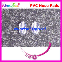 PV56 plastic pvc eyeglasses nose pads 8mm Push-in type glasses eyewear accessories nose pads free shipping