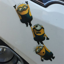 Despicable Me Minions Movie Sticker Reflective Rear Window Cover Auto Car Vinyl Decal Truck Motorcycle Glass Waterproof Stickers
