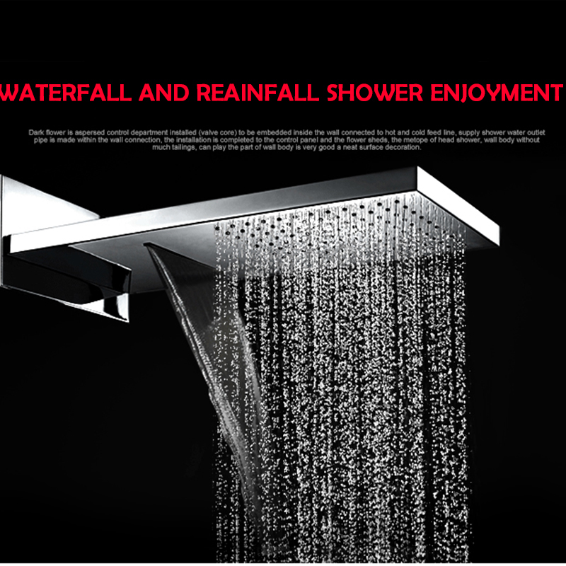 Ulgksd-Waterfall-Rainfall-bath-shower-system-chrome-shower-head-wall-mount-mixer-tap-hand-shower (1)