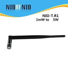 NIORFNIO 8.5 inch 3dB TNC Connector NIO-T.R1 Rubber Short Antenna for FM Radio Broadcasting Transmitter(China)