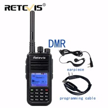 DMR Digital Radio (GPS) Walkie Talkie Retevis RT3 UHF(VHF) 5W 1000CH Encryption SMS 2-Slot Portable Two Way Radio Hf Transceiver