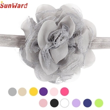 Lace Headband SUNWARD delicate 2017 Flower Bow  Headwear Hair Band Girl hair accessories hair ornament W30