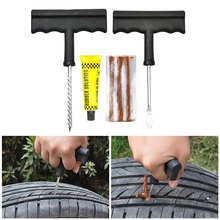 Onever Car Tubeless Tire Repair Kit Bike Auto Tire Tyre Puncture Plug Repair Tool Kit Accessories for Any Cars
