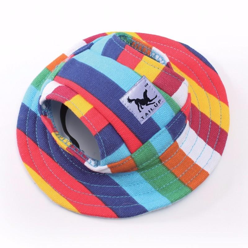 Cute Dog Sun Fashion Hat, Dogs In Hats   DogsMall-International