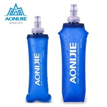 Buy AONIJIE Outdoor Sport Bottle 250ml/500ml Soft TPU Healthy Foldable Portable Running Hiking Fitness Bicycle Camping Water Bottle for $13.44 in AliExpress store