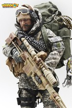 VH1046 1/6 SPECIAL FORCES MOUNTAIN OPS SNIPER ACU NAVY SEAL SNIPER PCU Set for 12inch Action Figure DIY(China)