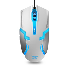 Professional Double Click 6 Buttons Gaming Mouse USB Wired Optical Computer Game Mouse Mice for PC Laptop for CSGO LOL(China)