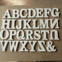 1pcs Home Decor Wooden Letter 26 Wood English alphabet Letters Home Wedding Party Decoration DIY Handcrafts Ornaments 6Z(China)