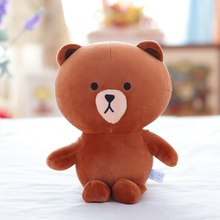 1pcs 30cm Lovely Soft Teddy Bear Dolls Nanoparticle Stuffed  Plush Toy Kids Gifts Christmas Gift Doll