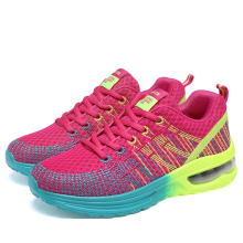 2017 Women Running Shoes Air Cushionig Breathable Mesh Girls Winter Sneakers Sport Female Shoes For Jogging Athletic Shoes(China)