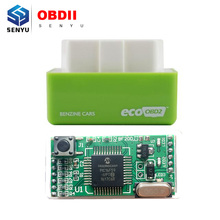 New Arrival EcoOBD2 Benzine Car Chip Tuning Box Plug and Drive OBD2 Chip Tuning Box Lower Fuel save and Lower Emission