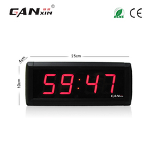 "[Ganxin]1.8"" Low Price Factory Supply Led Light Digital Desk Alarm Clock with Stopwatch Function"