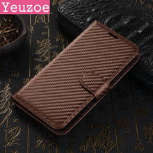 Fashion For Samsung Galaxy A3 2017 Case Ultra-thin Carbon Fiber Leather TPU Flip Phone Cover For Samsung Galaxy A320 wallet Case