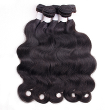 BY Brazilian Virgin Hair Body Wave hair 100% Human Hair Weave Bundles Extension Brazillian 300g/lot for salon extensions(China)
