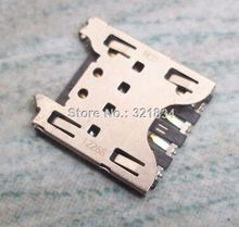 10PCS-100PCS original new micro sim card socket connector for Blackberry Z10 Q10 mobile phone(China)