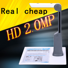 2 MP Portable Scanner Video Presenter Monitor Camera HD handy scanner for scanning documents, books, cards