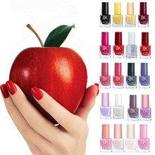 1pcs 8ml Liquid Nail Art Colorful Fashion Nail Polish Varnish Oil Oct 19