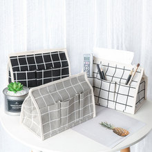 Cotton cloth Tissue Box Case Holder Toilet Paper Cover bathroom/office/car/restaurant removable tissue paper towel case holder(China)