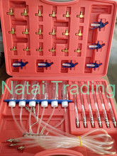 diesel common rail injector return fuel test kit with 24 Adaptors