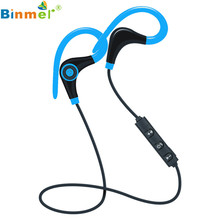 2017 Wireless Bluetooth Headset SPORT Stereo Headphone Earphone for iPhone For Samsung For LG DE16 Levert Dropship