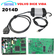 Express Fast For Volvo Vida Dice Diagnostic Tool Newest 2014 Multi-Language Excellent PCB Update by CD Supports J2534 Protocol