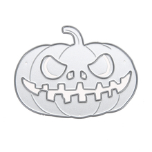 Pumpkin Cutting Dies Stencils For DIY Scrapbooking Photo Album Embossing Decorative Craft Halloween Supplies(China)