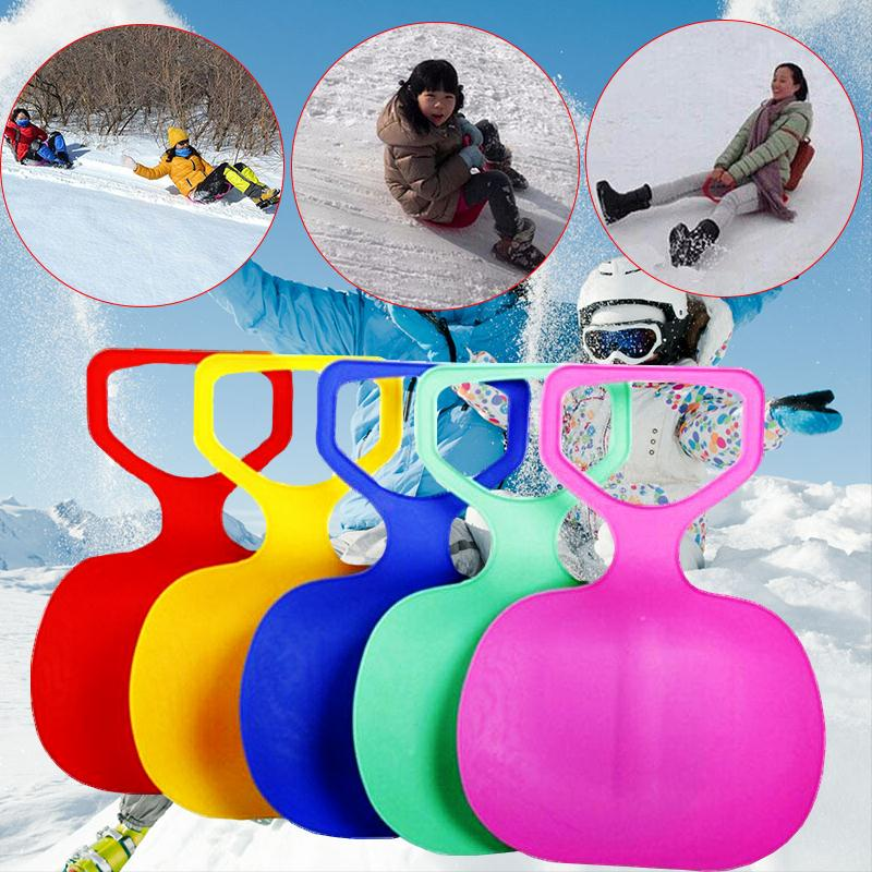 Winter Skiing Sports Pad Board For Kids Adult Children Plastic Thicken Sled sand Grass Sledge Snow luge Outdoor equipment(China (Mainland))