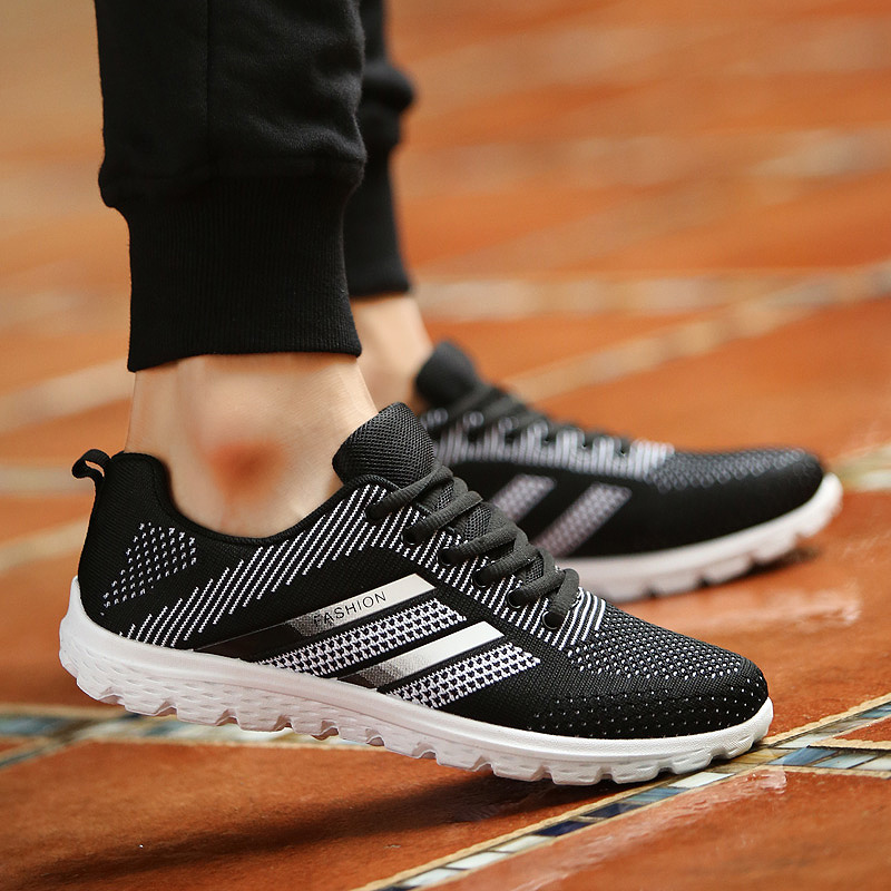 JYRhenium Sneakers Shoes Men Running Shoes 17 Lovers Outdoor Men Sneakers Sports Breathable Trainers Jogging Walking Shoes 37
