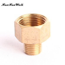 "Buy 2pcs NuoNuoWell 1/2"" Female Thread M14 Brass Connector Garden Irrigation Watering Water Gun Adapter Washing Car Fittings for $3.12 in AliExpress store"
