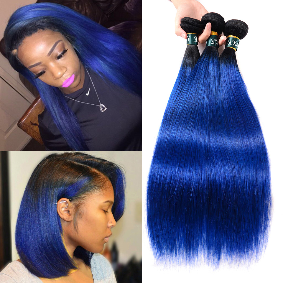 blue-human-hair-straight