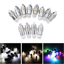 Mini RGB 12x LED Party Balloons Lights Decoration White Light For Paper Lanterns Include batteries