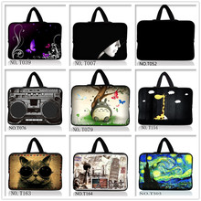 Support Custom Personality Laptop Bag Sleeve Case 7/9/10/11/12/13/14/15/17.3 inch for MacBook Lenovo Dell hp acer VAIO #09(China)