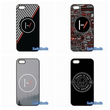 For Apple iPhone 4 4S 5 5S 5C SE 6 6S 7 Plus 4.7 5.5 iPod Touch 4 5 6 Popular Twenty One Pilots Case Cover