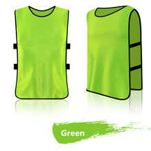 survetement football 2017 maillot de foot men kids soccer shirt sports group against vest football quick drying vest(China)