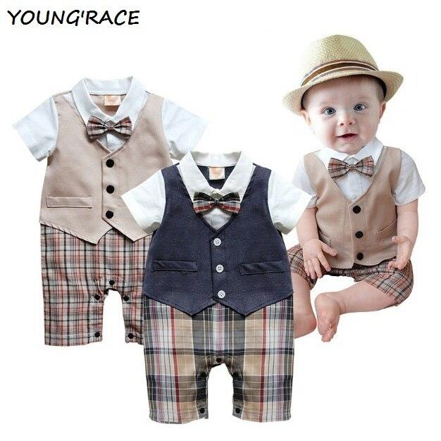 2015 Brand New Baby Boy Rompers Suit European Gentlemen Baby Boy Formal Clothing Set Rompers for Weddings Baby Boy Outwear, C089<br><br>Aliexpress