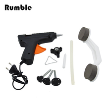 Glue Gun Car Paintless Dent Repair Tool Kit Body Cover Damage Dent Removal Hand Tool Set Auto Door Automobile Pulling Bridge
