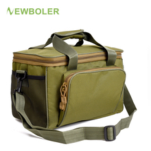 Newboler Fishing Tackle Bags Waterproof Fishing Lure Bag 37*25*25cm Oxford Multi-function Fishing Reel Bag bolsa de la pesca