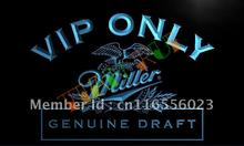LA423- VIP Only Miller Beer LED Neon Light Sign