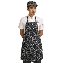Fashion Kitchen Cooking Chef Apron Cotton Home Restaurant Work Apron For Adult Woman And Man Free Shipping & Wholesale