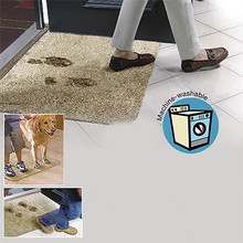 Super Absorbent Clean Step Doormat Clean Step Super Mat Doormat Absorbent Non Slip Carpet Traps Bath And Mud Water(China)