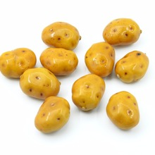 10pcs  Mini potato Foam Artificial Fake Fruit Vegetable For Home Wedding Decoration Cognitive Toy Props Dining Table  Decoration