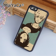 MaiYaCa Anime Naruto Old Style Soft Rubber cell phone Case Cover for iPhone 5 5S SE phone cover shell(China)