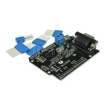 1Set Black MCP2515 EF02037 CAN BUS Shield SPI 9 Pins Standard Sub-D Expansion Board Module DC 5-12V for Arduino Seeeduino(China)