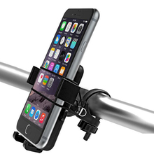 ABS Bicycle Phone Support For Phone GPS Motorcycle MTB Bike Bicycle Phone Holder On The Handlebar(China)