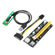 Buy PCI-E 1X 16X Riser Card Extender Black 60CM PCIe Extension Cable M2 NGFF PCI-E PCI Express Extender Riser Card Adapter for $8.76 in AliExpress store