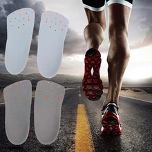 3/4 Kids Adult 2 Size Arch Support Cushion Insole Flat Foot Corrector Shoes Pads Feet Support Message Insole(China)